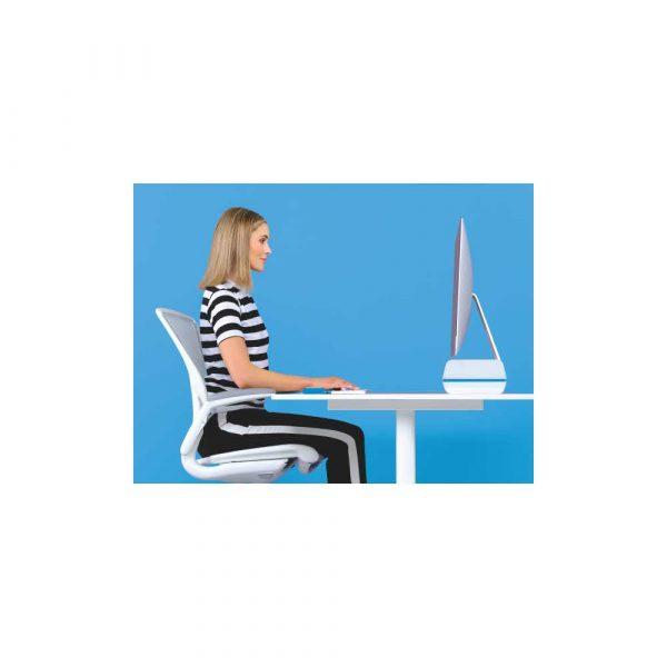 ergonomia 5 alibiuro.pl Regulowana podstawka Leitz Ergo WOW pod monitor niebieski 65