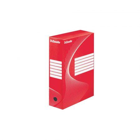 karton 5 alibiuro.pl Pudło archiwizacyjne Esselte Standard 100 mm czerwony 7