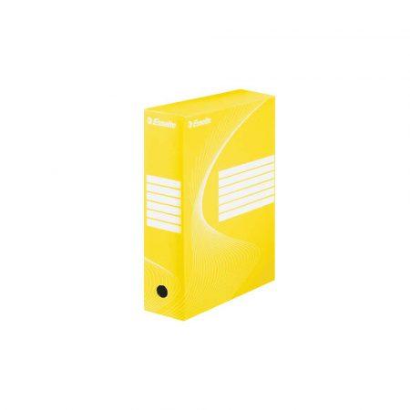 karton 5 alibiuro.pl Pudło archiwizacyjne Esselte Standard 100 mm żółty 54