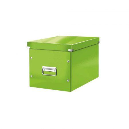 karton 5 alibiuro.pl Pudło do przechowywania Leitz Click Store WOW Cube rozmiar L zielony 9