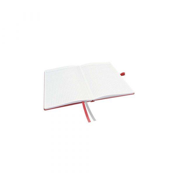 kołonotatnik 5 alibiuro.pl Notatnik Leitz Complete A5 w kratkę z twardą okładką czerwony 53