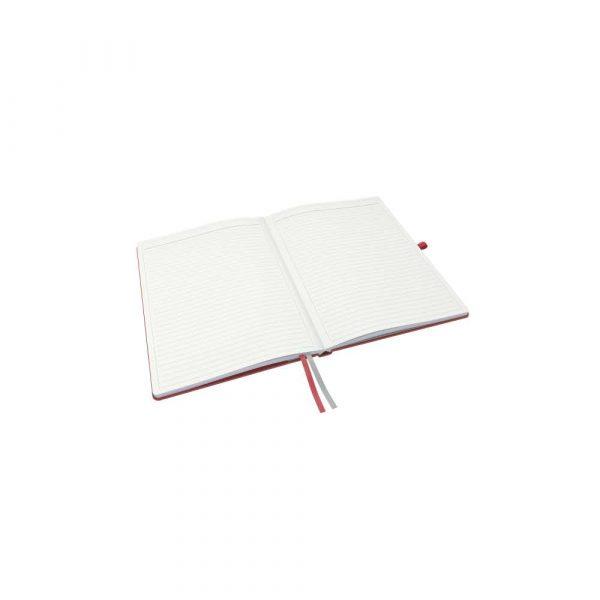 kołonotatniki 5 alibiuro.pl Notatnik Leitz Complete A4 w linie z twardą okładką czerwony 36