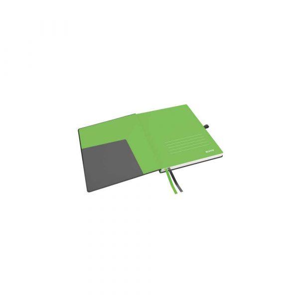 kołonotatniki 5 alibiuro.pl Notatnik Leitz Complete w formacie iPada w kratkę z twardą okładką czarny 80