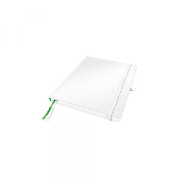 kołonotatniki 5 alibiuro.pl Notatnik Leitz Complete w formacie iPada w linie z twardą okładką biały 50