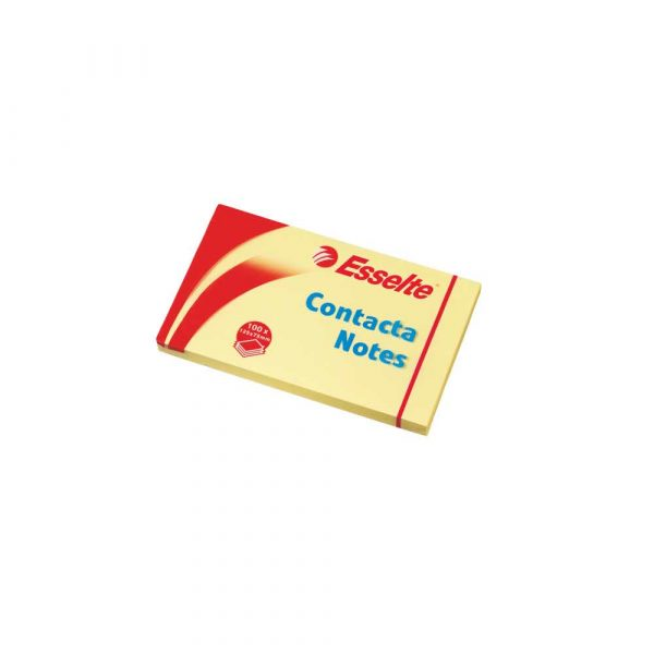kolorowe karteczki 5 alibiuro.pl Bloczki samoprzylepne Contacta żółty 79