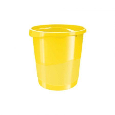 kosz na śmieci z pedałem 5 alibiuro.pl Kosz na śmieci Esselte VIVIDA vivida żółty 51