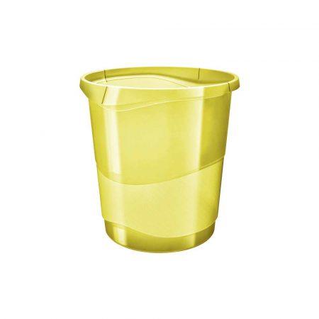 kosze na śmieci 5 alibiuro.pl Kosz na śmieci Esselte Colour Inch Ice żółty 48