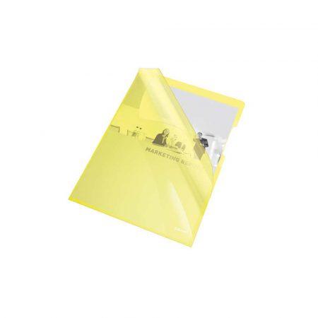 obwoluta 5 alibiuro.pl Ofetówki Esselte krystaliczne sztywne żółty 1