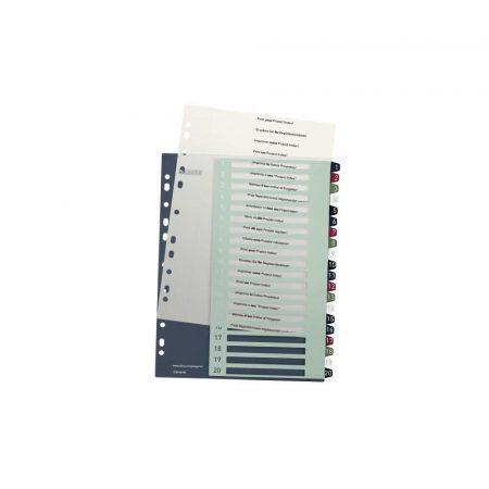 organizacja dokumentów 5 alibiuro.pl Przekładki Leitz Style z możliwością nadrukowania tekstu PP Maxi 93