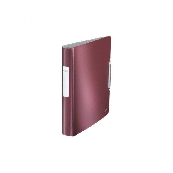 organizacja dokumentów 5 alibiuro.pl Segregator ofertowy Leitz Active Style SoftClick rubinowa czerwień 3