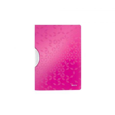 organizacja dokumentów 5 alibiuro.pl Skoroszyt Leitz WOW ColorClip różowy 28