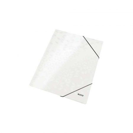organizacja dokumentów 5 alibiuro.pl Teczka z gumką Leitz WOW 15 mm z kartonu biały 97