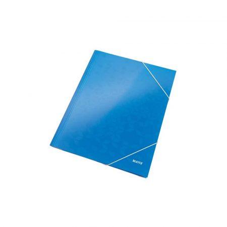 organizacja dokumentów 5 alibiuro.pl Teczka z gumką Leitz WOW 15 mm z kartonu niebieski 0