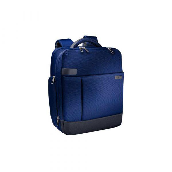 plecaki komputerowe 5 alibiuro.pl Plecak Smart Leitz Complete na laptopa 15.6 tytanowy błękit 70