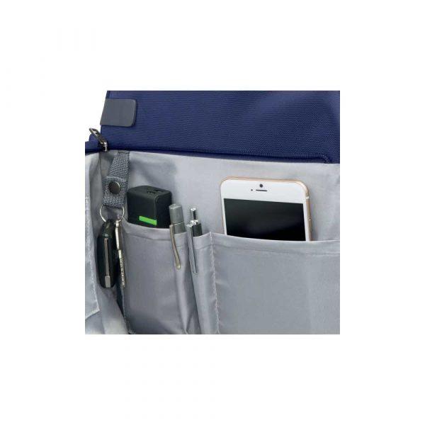 plecaki na komputery 5 alibiuro.pl Plecak Smart Traveller Leitz Complete 13.3 tytanowy błękit 32