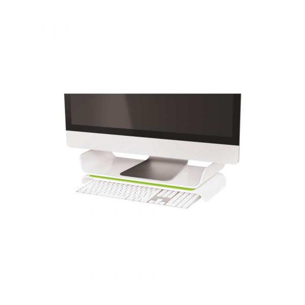 podstawki ergonomiczne pod monitory 5 alibiuro.pl Regulowana podstawka Leitz Ergo WOW pod monitor zielony 41