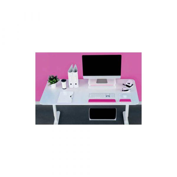 podstawki pod monitor 5 alibiuro.pl Regulowana podstawka Leitz Ergo WOW pod monitor różowy 47