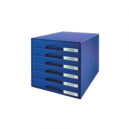 przybornik na biurko 5 alibiuro.pl Pojemnik z szufladami Leitz Plus niebieski 41