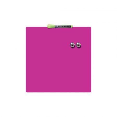 ramka 5 alibiuro.pl Kwadratowa tabliczka magnetyczna Nobo różowy 60