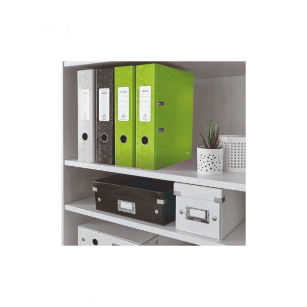 segregator poziomy 5 alibiuro.pl Segregator Leitz 180 WOW laminowany zielony 0