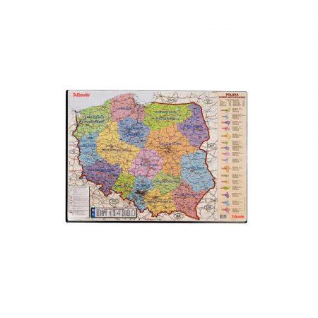 sprzęt biurowy 5 alibiuro.pl Mata z mapą Polski 84