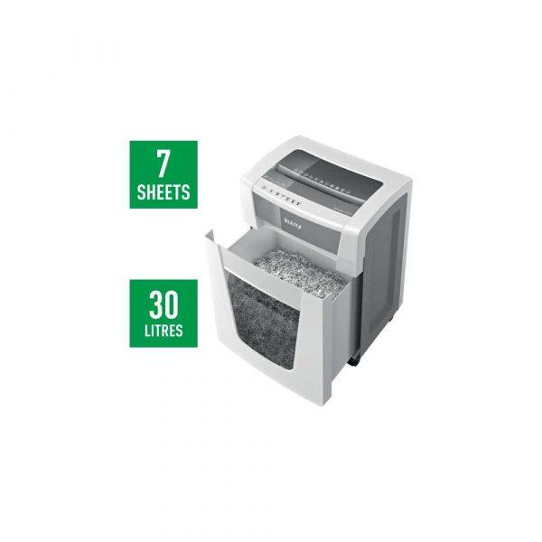 sprzęt biurowy 5 alibiuro.pl Niszczarka Leitz IQ Office Pro P5 biały 91