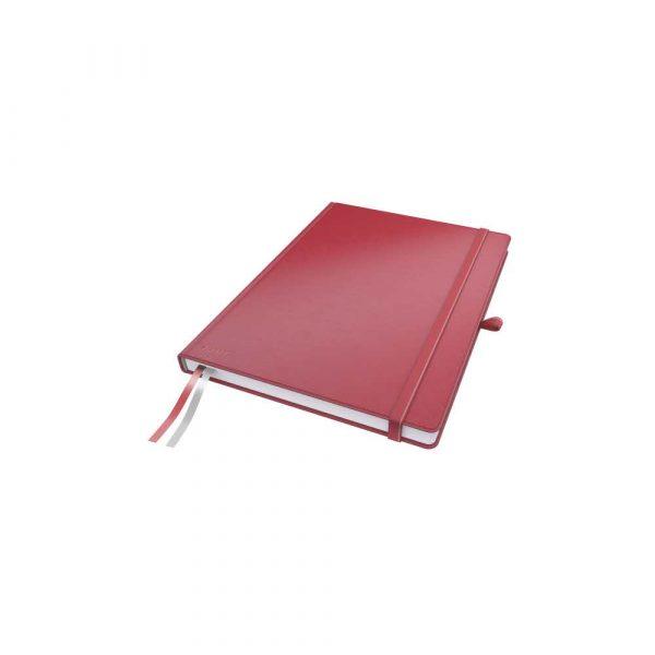 sprzęt biurowy 5 alibiuro.pl Notatnik Leitz Complete A4 w linie z twardą okładką czerwony 0