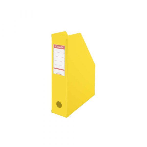 sprzęt biurowy 5 alibiuro.pl Pojemnik na czasopisma Esselte VIVIDA składany vivida żółty 7