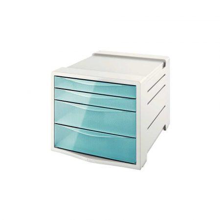 sprzęt biurowy 5 alibiuro.pl Pojemnik z szufladami Esselte Colour Inch Ice niebieski 64