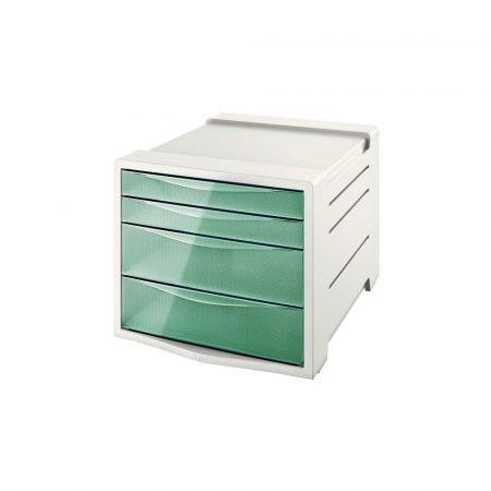 sprzęt biurowy 5 alibiuro.pl Pojemnik z szufladami Esselte Colour Inch Ice zielony 36