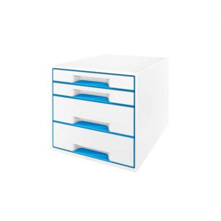 sprzęt biurowy 5 alibiuro.pl Pojemnik z szufladami Leitz WOW CUBE niebieski 90