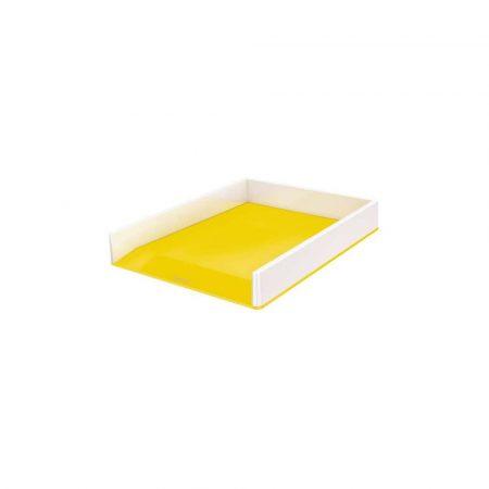 sprzęt biurowy 5 alibiuro.pl Półka na dokumenty Leitz WOW dwukolorowa żółty 56