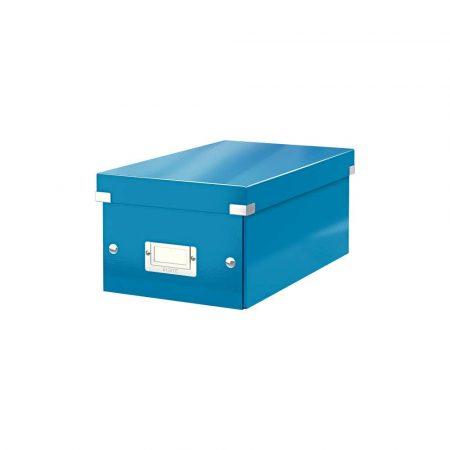 sprzęt biurowy 5 alibiuro.pl Pudełko na DVD Leitz Click Store WOW niebieski 60