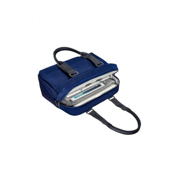 sprzęt biurowy 5 alibiuro.pl Torba Leitz Complete Shopper na laptopa 13.3 tytanowy błękit 88