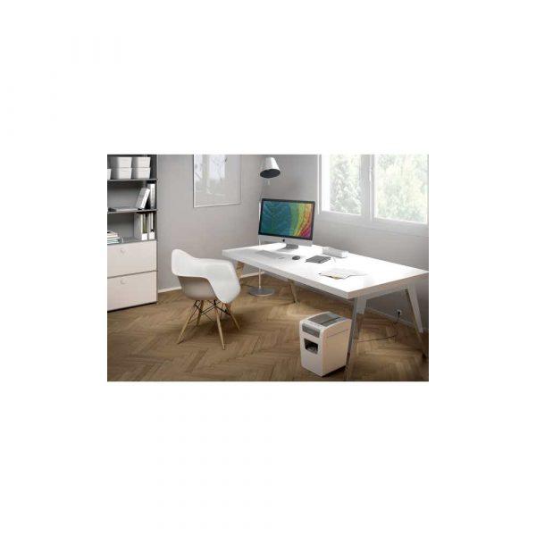 sprzęt biurowy 5 alibiuro.pl Wąska niszczarka Leitz IQ Home Office P4 biały 26