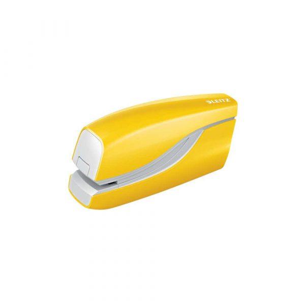 sprzęt biurowy 5 alibiuro.pl Zszywacz elektryczny Leitz NeXXt WOW żółty 68