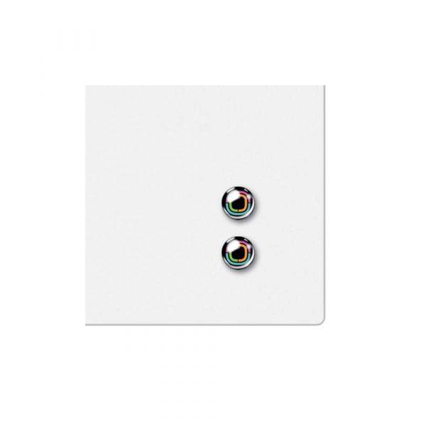 tablice i prezentacja 5 alibiuro.pl Kwadratowa tabliczka magnetyczna Nobo biały 72
