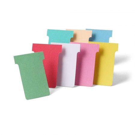 tablice i prezentacja 6 alibiuro.pl Karteczki T Card rozmiar 2 czerwone 100 21
