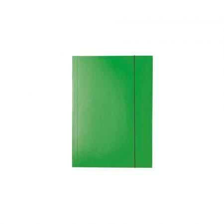 teczka segregująca 5 alibiuro.pl Teczka lakierowana z gumką zielony 85