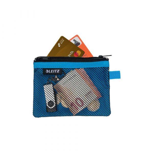 torby na komputerów 5 alibiuro.pl Saszetka podróżna Leitz WOW z 2 kieszonkami S niebieski 85