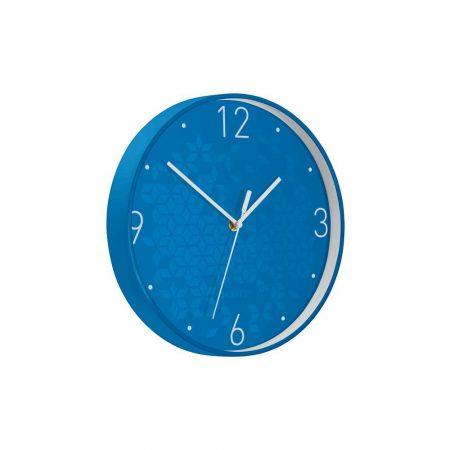 urządzenia biurowe 5 alibiuro.pl Cichy zegar ścienny Leitz WOW niebieski 52