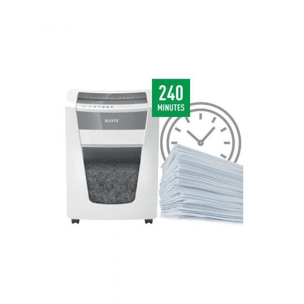 urządzenia biurowe 5 alibiuro.pl Niszczarka Leitz IQ Office Pro P5 biały 53