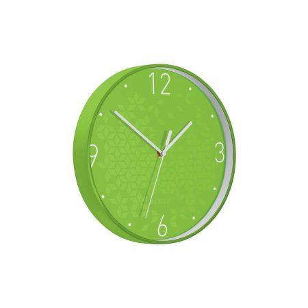 urządzenia elektryczne 5 alibiuro.pl Cichy zegar ścienny Leitz WOW zielony 82