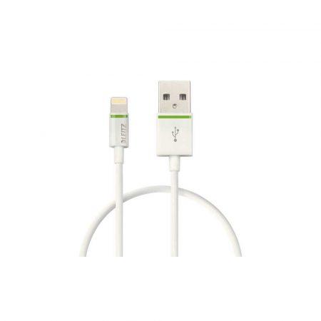 urządzenia elektryczne 5 alibiuro.pl Kabel Leitz Complete ze złącza Lightning na USB 30 cm biały 28