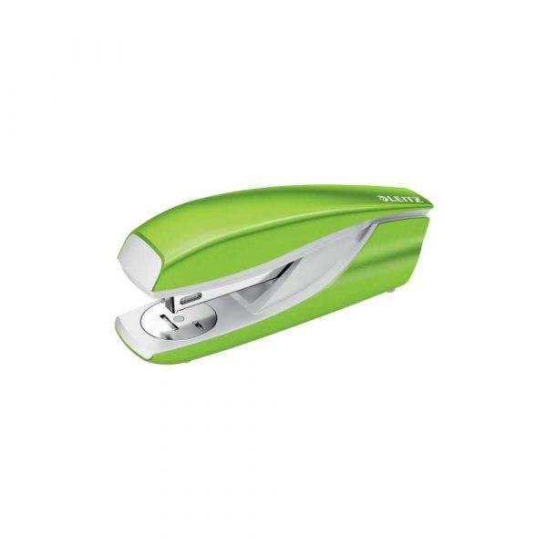 zszywacze biurowe 5 alibiuro.pl Zszywacz średni metalowy Leitz NeXXt Series zielony 83