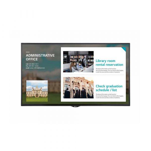 LCD 7 alibiuro.pl Monitor LG 55SE3KE 1TG166 55 Inch IPS FullHD 1920x1080 2 x HDMI 2.0 DVI D kolor czarny 64