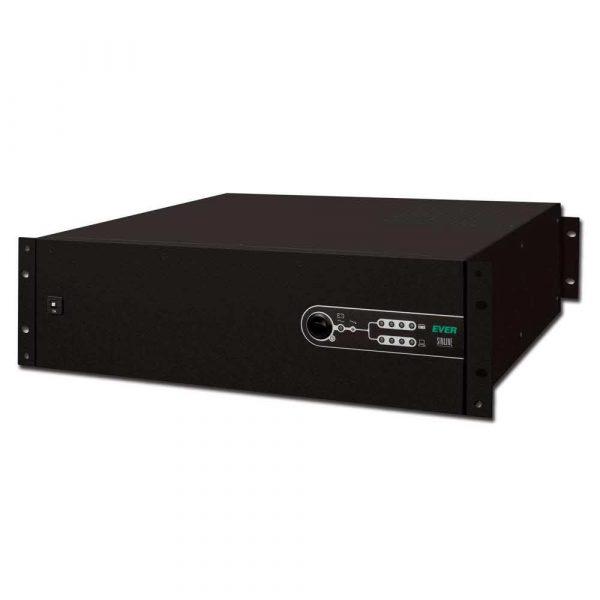 UPSy 7 alibiuro.pl Zasilacz awaryjny UPS Ever UPS EVER SINLINE 1600 USB HID 19 Inch 3U W SL00RM 001K60 07 Rack 1600VA 15