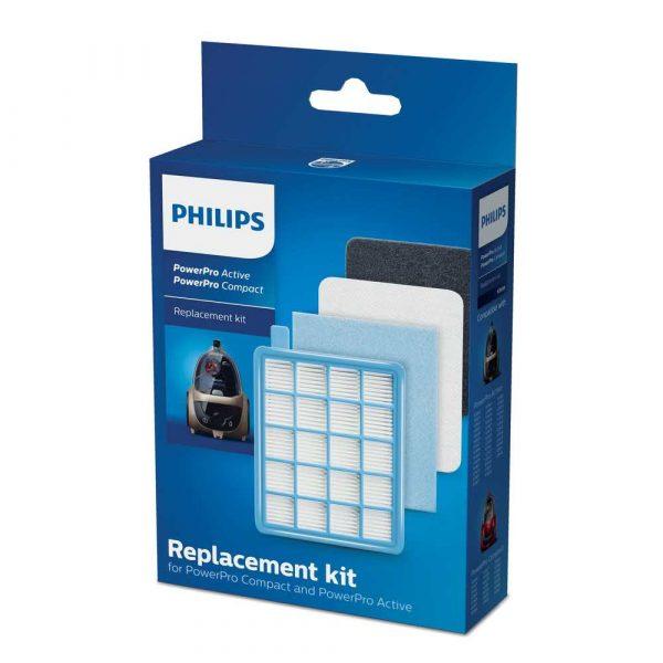 akcesoria agd 7 alibiuro.pl Zestaw filtrw do odkurzacza Philips FC8058 01 92