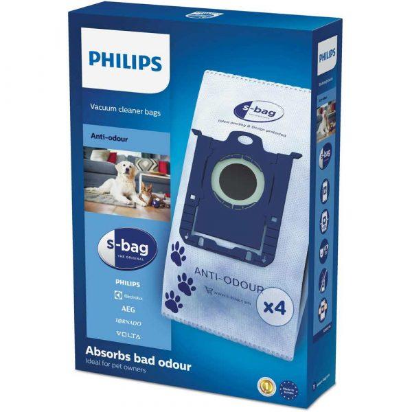 akcesoria agd 7 alibiuro.pl Zestaw workw do odkurzacza Philips Tkanina syntetyczna Philips FC8023 04 4 szt. 72