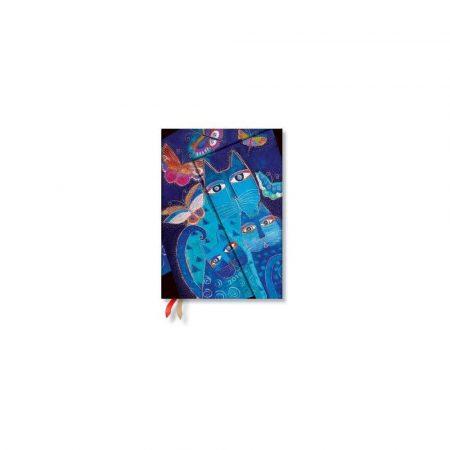 akcesoria biurowe 7 alibiuro.pl Kalendarz paperblanks 2019 BlueCats Midi kolor niebieski 73